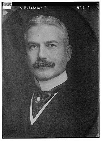 Samuel Reading Bertron - Image: Samuel Reading Bertron (February 26, 1865 June 30, 1938) in 1917