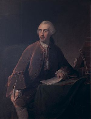 Samuel Vaughan - Samuel Vaughan, 1760 portrait by Robert Edge Pine