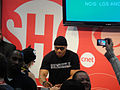 San Diego Comic-Con 2011 - LL Cool J signs for fans (CBS-Showtime booth) (5992098724).jpg