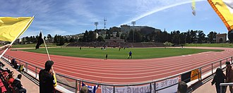 San Francisco City FC - SF City in 2015 US Open Cup action against Cal FC at Kezar Stadium
