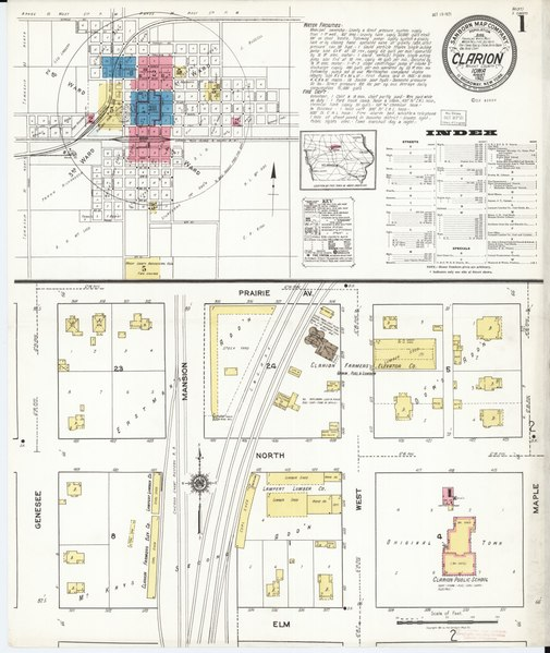 File:Sanborn Fire Insurance Map from Clarion, Wright ...