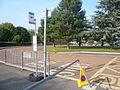 Sandown High School bus stop in June 2011.JPG