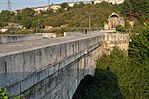 Sangarius Bridge, a 430 m late Roman bridge over the river Sangarius built by the East Roman Emperor Justinian I to improve communications between the capital Constantinople and the eastern provinces of his empire, Turkey (26182712428).jpg