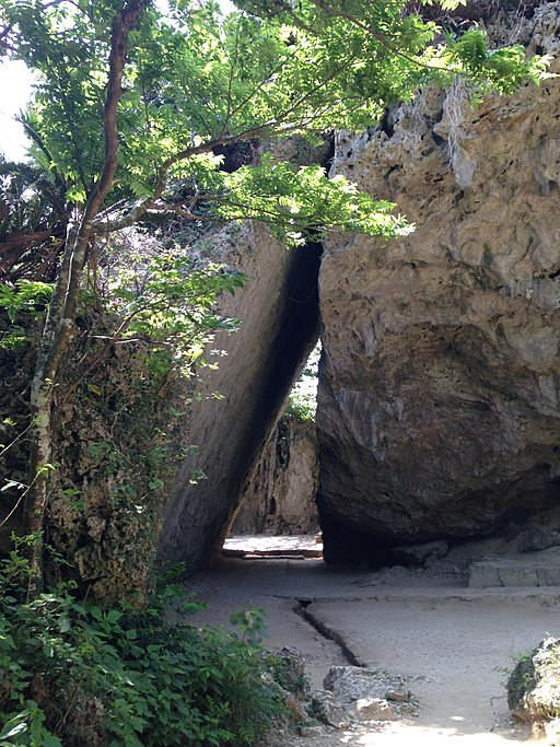Sangui (Triangle Rock) of Sefa-Utaki