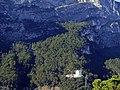 Santa Barbara (sopra a sinistra), Il bastione (a destra) - View from a Riva del Garda - panoramio.jpg