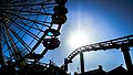 Santa Monica Ferris Wheel & Roller Coaster (17214231021).jpg