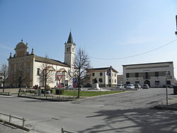 Santa Sofia, the Parish church, and the Town Hall