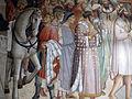 Santa croce, int., cappella maggiore, agnolo gaddi e bottega, affreschi 03.JPG