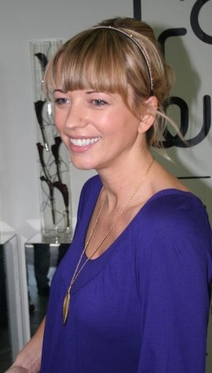 Sara Cox - Sara Cox at Manchester Fashion Week, October 2007