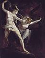 Satan und Tod, von der Sünde getrennt, by Johann Heinrich Füssli.jpg