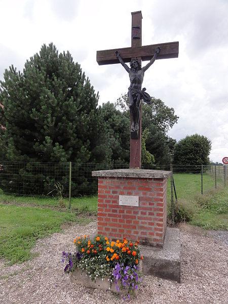 Savy (Aisne) croix de chemin
