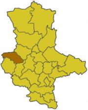 Хальберштадт на карте