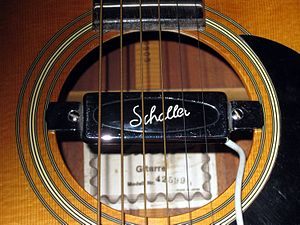 Schaller Electronic GmbH - Schaller guitar pickup, around 1970