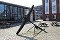 Schifffahrtsmuseum Flensburg Innenhof April 2018 HJL01.jpg