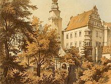 Sein Geburtsort: Schloss Oels in Niederschlesien (Quelle: Wikimedia)