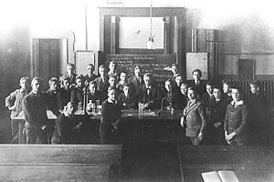 School class in Hannover (secondary class).