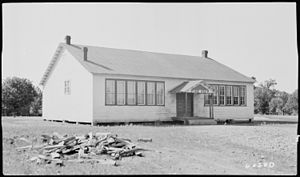 Pine View, Tennessee - Pine View school in 1940
