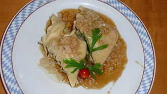 Swabian cuisine - Swabian Maultaschen
