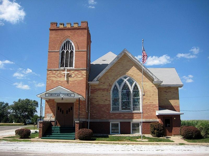 File:Sciota, Illinois - Christian Church - 2013-07-19.JPG