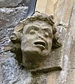 Sculptural detail on the exterior of St John the Baptist's Church in Instow.jpg