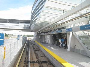 Sea Island Centre station - Image: Sea Island Stn