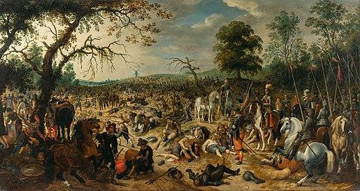 Sebastiaan Vrancx - Plundering after the battle