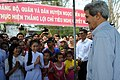 Secretary Kerry Greets Students in Mekong Delta Village (11381309495).jpg