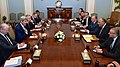 Secretary Kerry and His Team Discuss Gaza Cease-Fire With Egyptian Foreign Ministry Shoukry and His Counterparts (14694102926).jpg