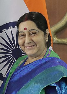 Sushma Swaraj Indian politician