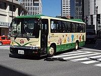 自家用登録のスクールバスの例(聖徳学園三田幼稚園)