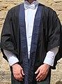 Selwyn College, Cambridge Gown.jpg