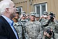 Senator John McCain visits with Camp Eggers troops (4760301697).jpg
