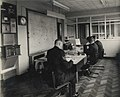 Sergeant Collins and his staff in the Hull City Police Operations Room 1955 (archive ref POL-4-10-9-22) (31980135951).jpg