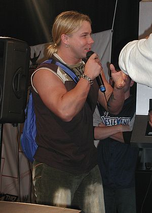 Shannon Moore - Moore in March 2003 at WWE Fan Axxess