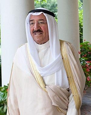 Al-Ahmad Al-Jaber Al-Sabah, the Amir of Kuwait...