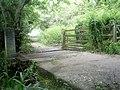 Shilla Mill cattle grid stream crossing - geograph.org.uk - 226290.jpg