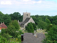 Shipley, West Sussex church from windmill.JPG