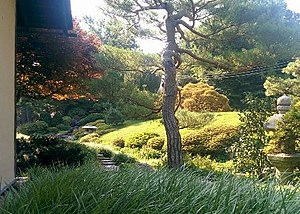 Shofuso Japanese House and Garden - Image: Shofuso Tea Garden Small
