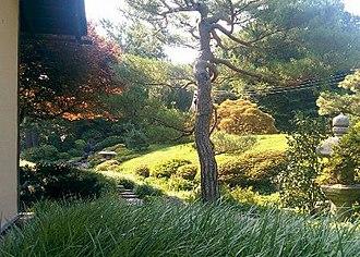 Shofuso Japanese House and Garden - Image: Shofuso Tea Garden Small