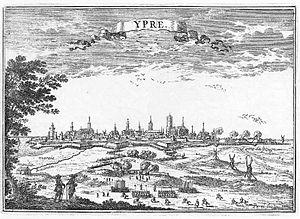 Siege of Ypres (1678) - Image: Siège d'Ypres en 1678