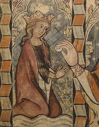 Sibila of Fortià - Image of Sibila of Fortià in San Miguel de Daroca