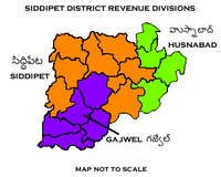 Siddipet District Revenue divisions.png