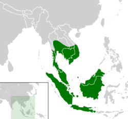 Siebenrockiella crassicollis distribution map.png