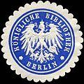 Siegelmarke Königliche Bibliothek - Berlin W0226222.jpg