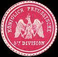 Siegelmarke K. Pr. 5te Division W0224114.jpg