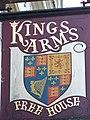 Sign for the Kings Arms, Bridlington - geograph.org.uk - 645273.jpg