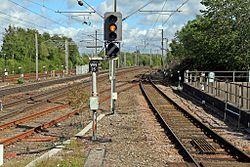 Signal WN25, Wigan North Western railway station (geograph 4500055).jpg
