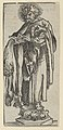 Silver Statuette of St. Bartholomew from the Wittenberg Reliquaries MET DP842099.jpg