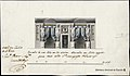 Silvestre pérez-Borrador de una Sala con dos alcobas adornada con Idolos egipcios para casa dela Sra. Marquesa de Santiag.jpg