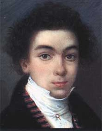 Simón Bolívar - Simón Bolívar at the age of 17, in 1801